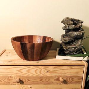 REMY OLIVIER Provençal Wooden Salad Bowl